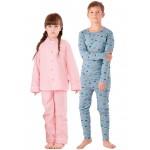Термобелье, пижамы, халаты детские