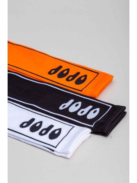 Носки с вышивкой в прямоугольнике JO JO