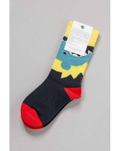 Носки с цветным рисунком Manan