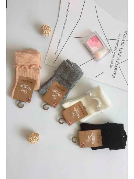 Носки с отворотом и люрексом Gufo