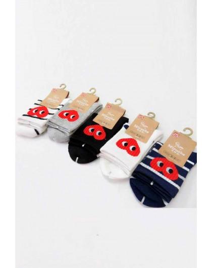 Носки с сердцем на манжете Gufo