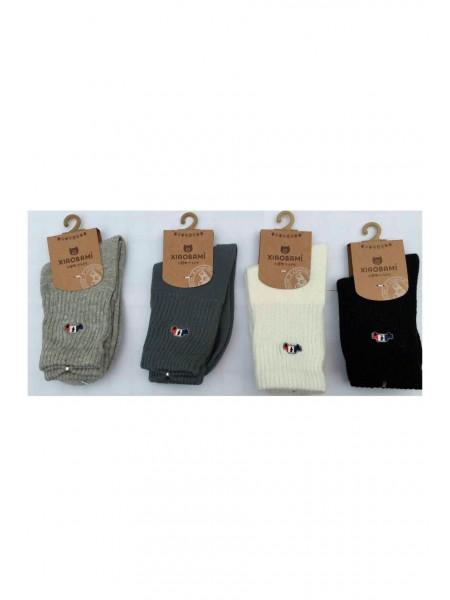 Носки трикотажные с вышивкой Машинка Gufo