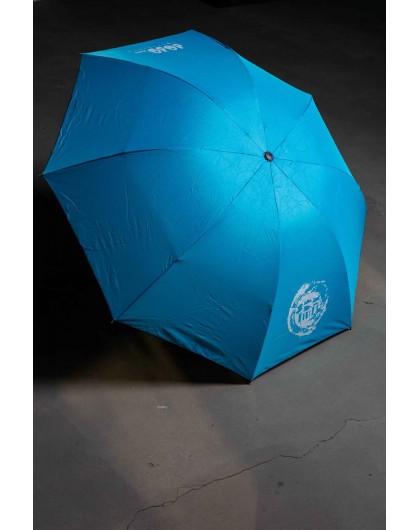 Зонт однотонный с брендовым принтом JO JO