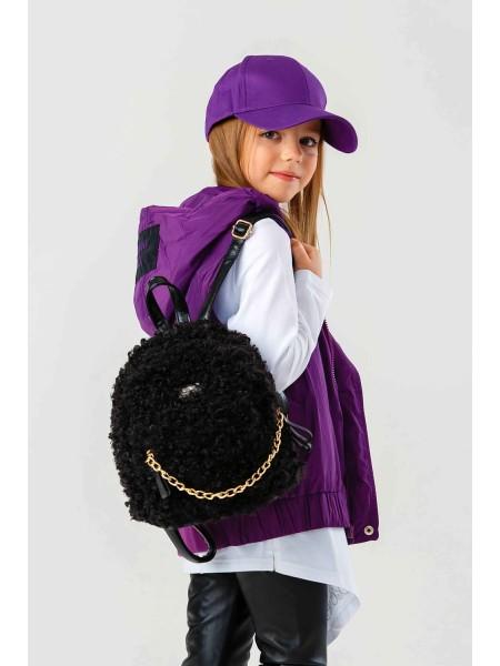 Рюкзак из шерсти овечки с золотой цепочкой JO JO