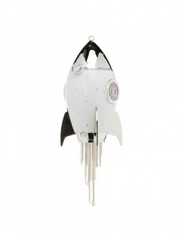 Сумка в форме ракеты со стразами Gufo