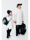 Рюкзак черный с брендовым принтом 66 JO JO