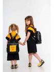 Рюкзак на молнии с принтом спереди JoJo