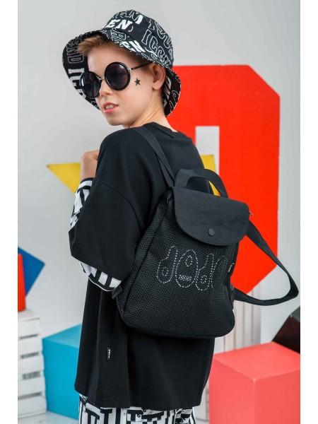 Рюкзак с сетчатой тканью JO JO