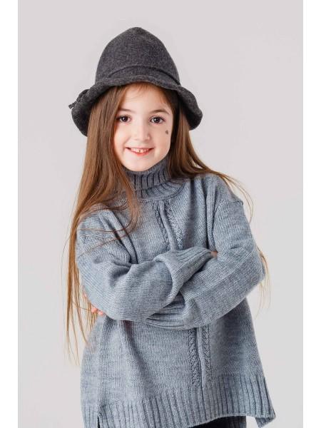 Шляпа шерстяная со шнурком вокруг JO JO