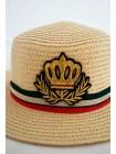 Шляпа с нашивкой короны Gufo
