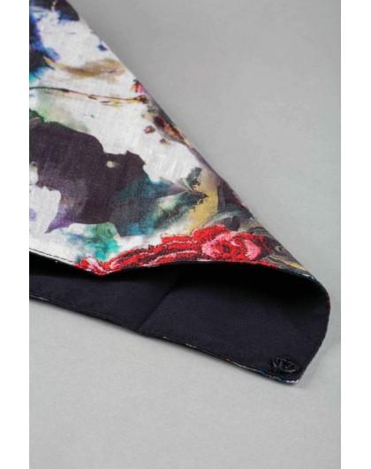 Платок на шею с цветочным принтом JO JO