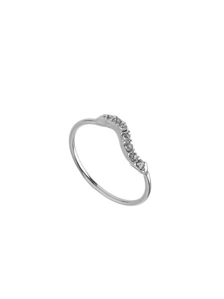 Кольцо с кристаллами Karpinski