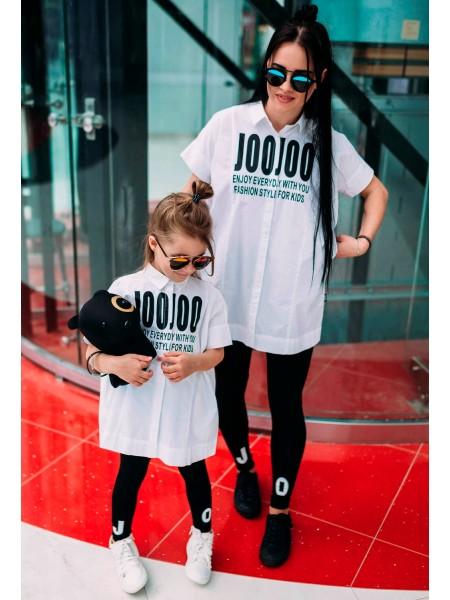 Рубашка удлиненная JO JO