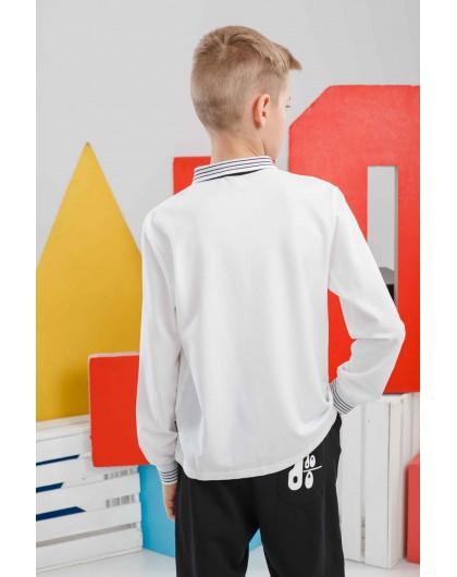 Рубашка поло с длинным рукавом JO JO