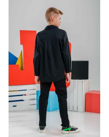 Рубашка с принтом восточного стиля JO JO