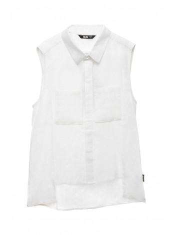 Блуза - безрукавка с удлиненной спинкой JO JO