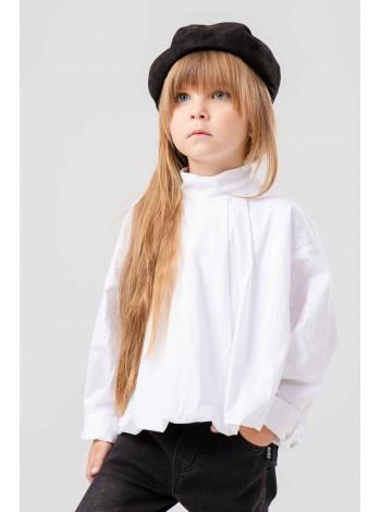 Блуза с воротничком стоечка JO JO