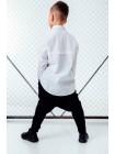 Рубашка хлопковая с удлиненной спиной JO JO 121229