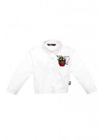 Рубашка с нашивкой - цветок JO JO