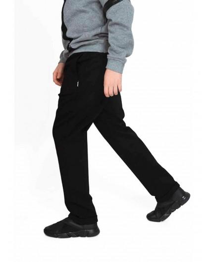 Брюки утепленные на флисе с карманами спереди JO JO