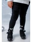 Кроссовки с широкими резинками JO JO