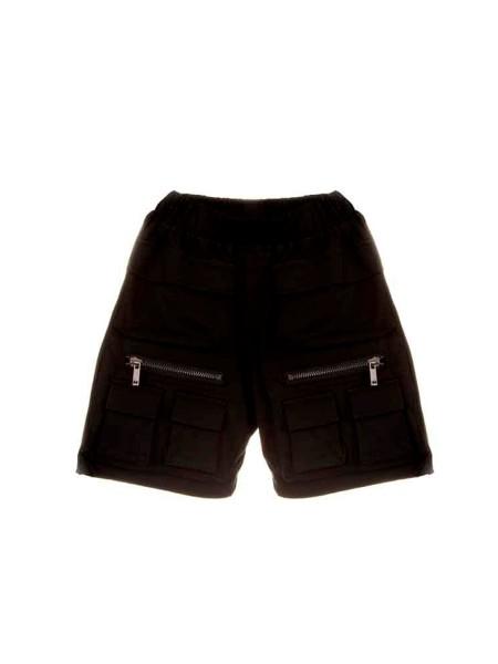 Шорты классические короткие с накладными карманами Manan