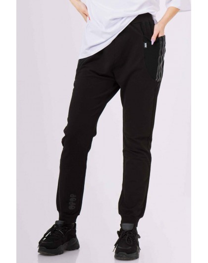 Штаны спортивные с боковыми карманами JoJo