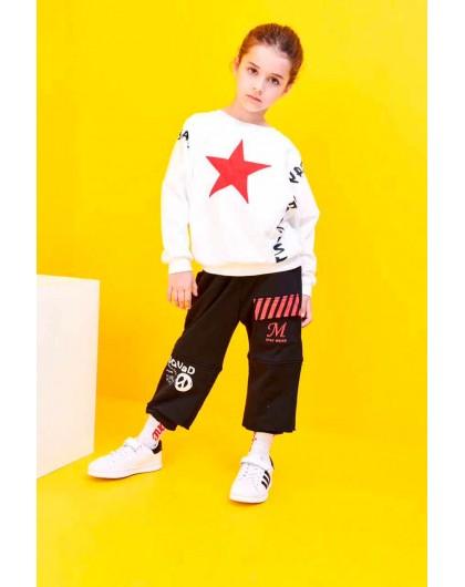 Штаны спортивные с накладным карманом Manan