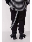 Спортивные штаны с полосатым ремешком JoJo