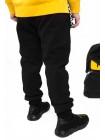 Штаны спортивные на флисе с оригинальными карманами JO JO