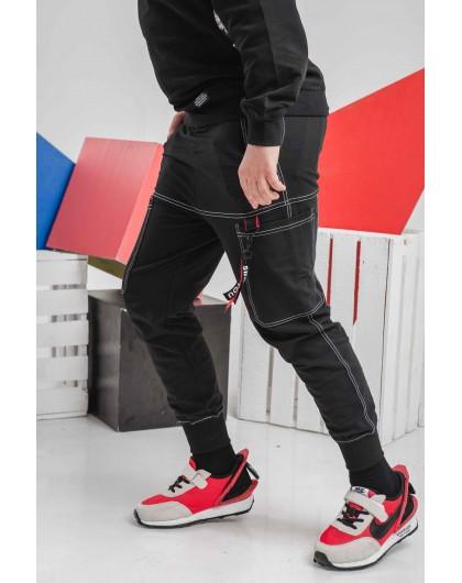 Штаны с накладными карманами Manan