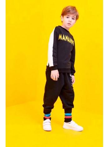 Штаны спортивные с удлиненной резинкой внизу Manan