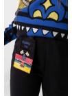 Штаны спортивные со съемным карманом JO JO