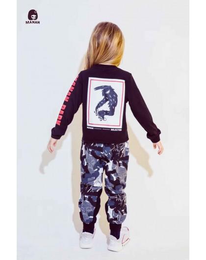 """Спортивные штаны с нашивкой """"Trend"""" Manan"""
