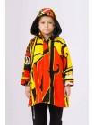 Куртка разноцветная с капюшоном JoJo