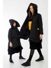 Куртка-пуховик Fendi с махровыми нашивками JO JO