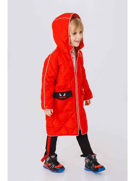 Пуховое пальто Fendi на карманах смайлы JO JO