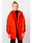 Пуховик-куртка с капюшоном Manan