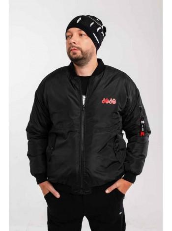 Куртка с карманом на рукаве и  принтом на спине JoJo