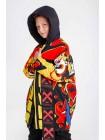 Куртка разноцветная с узором  JoJo