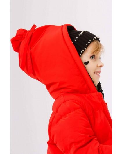 Куртка с сумочкой и большим капюшоном JO JO