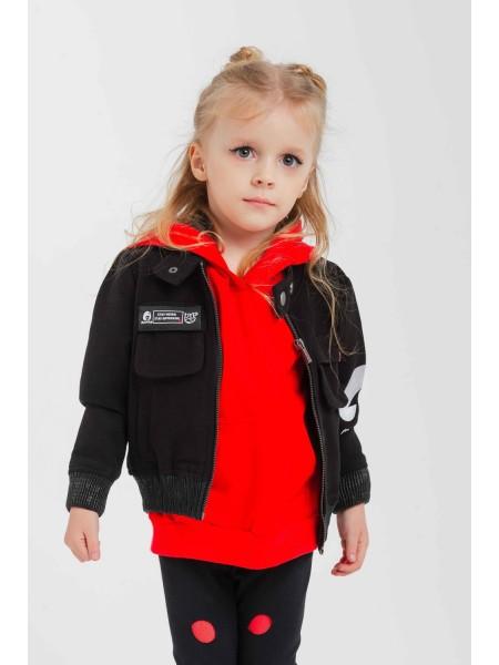 Куртка короткая с вышивкой Manan
