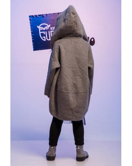 Пальто шерстяное с принтом JoJo