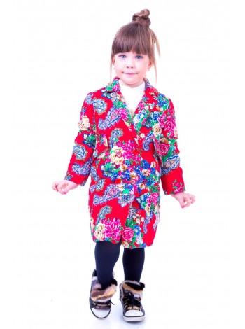 Пальто с цветочным принтом  JO JO