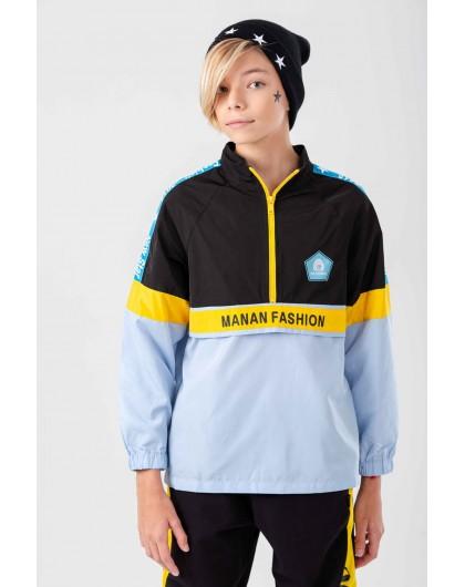 Ветровка с брендовым логотипом Manan