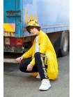 Штаны спортивные с желтыми лампасами Manan