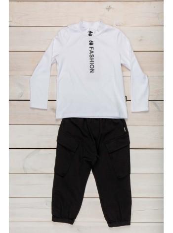 Штаны с накладными карманами JO JO
