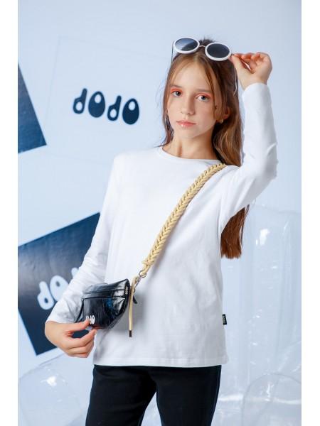Джемпер базовый с вышивкой бренда JO JO