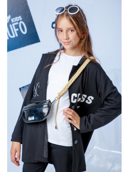 Жакет с брендовыми принтами JO JO