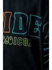 Свитшот с надписью TIDE ICON JO JO